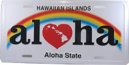 """Kfz Kennzeichen """"Aloha"""""""