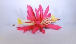 12 cm Spider-Lily-Haarclip pink