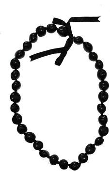 Kukuinusskette schwarz lang (Nr. 1060)