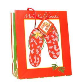Geschenktasche Red Slippers groß