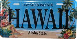 """Kfz Kennzeichen """"Vintage Hawaii"""""""