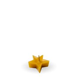 ♥ Teelicht Stern ♥  aus 100% Bienenwachs ♥