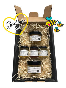 ♥ Geschenkkarton (S) 1 mit feinsten BIO-Honig ♥