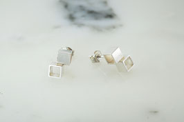"B.O. ""CUBUS"" EARRINGS"