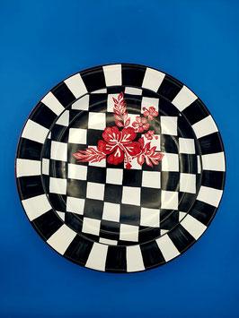 """Piatto da portata """"La regina degli scacchi"""""""