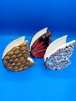 Portatovaglioli farfalla