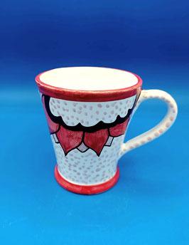 Tazza da latte 1/2 litro Frida pois