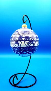 """Palla di Natale """"Blue garden"""""""