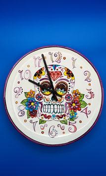 Orologio teschio arte moderna