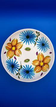 Spasetta universo floreale rotonda e ovoidale