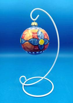 """Palla di Natale """"Il mosaico della natura"""""""