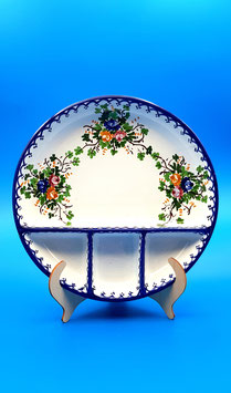 Antipastiera rosaspina blu