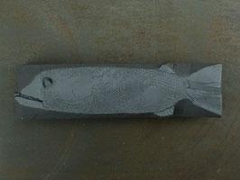 18 Steinfisch groß, Schiefergrau, matt