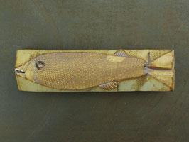 04 Steinfisch groß, Eisengefärbt