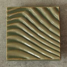 01 Seifenschale, grünliche Seladonglasur