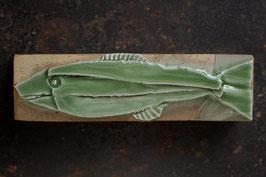 07-2 Kleiner Steinfisch, Chromgrün glänzend
