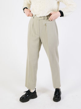 straight cut trousers light