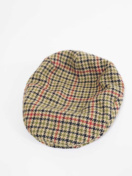 plaid hat wool lined