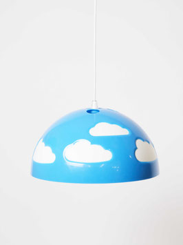 ceiling lamp clouds blue
