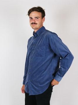 corduroy shirt blue