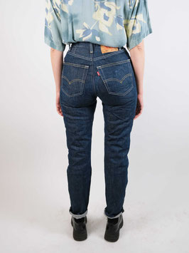 levis momjeans blue customized