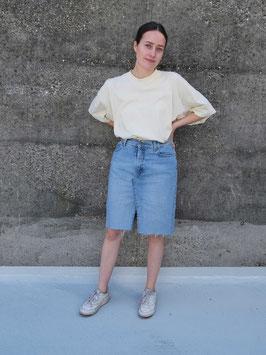 reworked denim skirt witboy