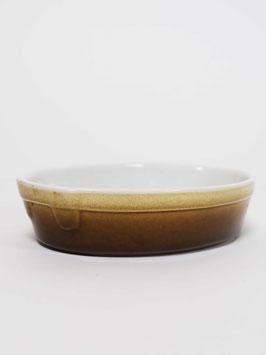 casserole white brown