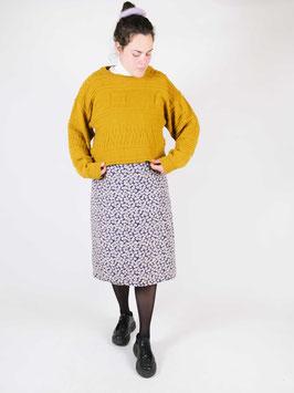 wool jumper mustard