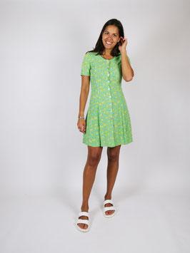 floral pattern dress green