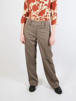 flared pants light brown