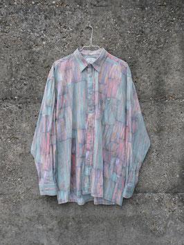 pastel pattern shirt turquoise
