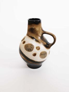 vase big brown dots