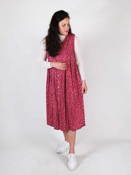 floral dress pink sleeveless