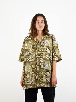 Hawaii shirt green