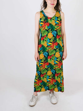 pineapple dress green long