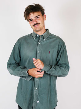 ralph Lauren shirt green