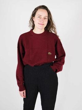 Lacoste jumper wool bordeaux