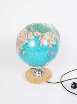 midcentury globe lamp