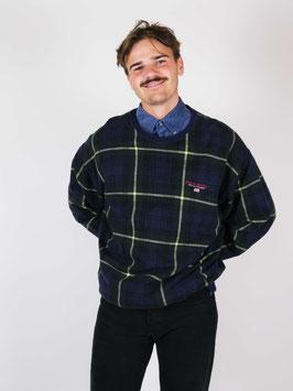 polo ralph lauren sweater green plaid