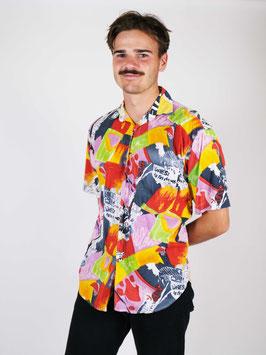 pattern shirt colored