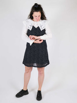 reworked dress and scrunchie