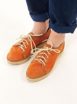 platform shoes orange