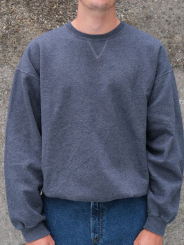 embroidered fyt sweater dark grey