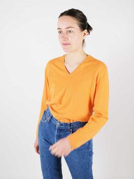 cashmere light jumper orange