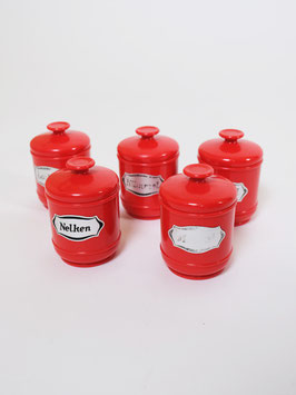 set of kitchen containers