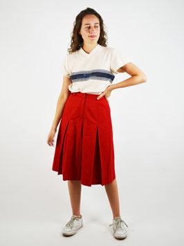 highwaist shorts red