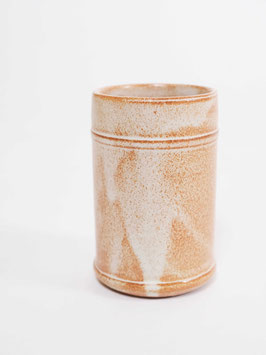 cup speckled light brown