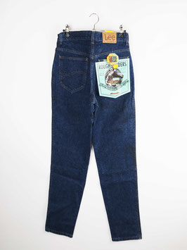 lee deadstock jeans rough riders blue