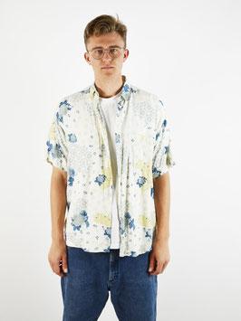 pastel pattern shirt roses