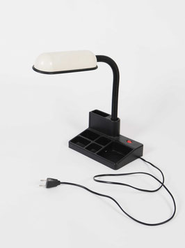 desk lamp white black